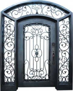 Sell_decorative_wrought_iron_door