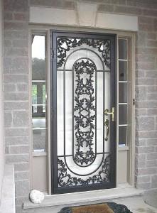 Bon Wrought Iron Door